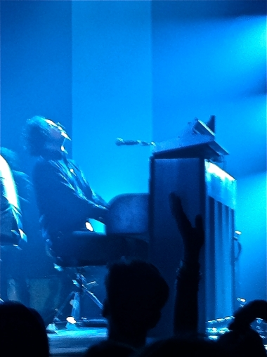 Jack White at the piano at Roseland Ballroom in New York City. (May 21, 2102)
